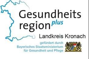 Logo Gesundheitsregion plus im Landkreis Kronach