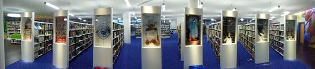 Kreisbibliothek Regale