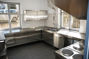 Jugendübernachtungshaus Küche 1